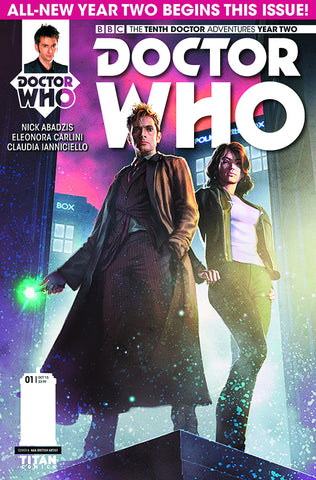 DOCTOR WHO 10TH YEAR TWO #1 REG RONALD - Packrat Comics