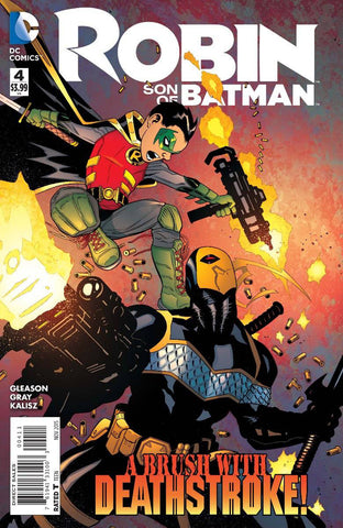 ROBIN SON OF BATMAN #4