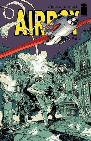 AIRBOY #4 - Packrat Comics