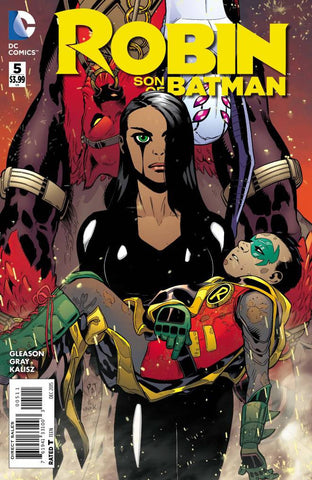 ROBIN SON OF BATMAN #5 - Packrat Comics