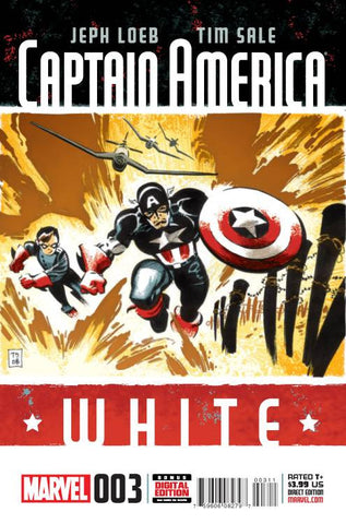 CAPTAIN AMERICA WHITE #3 (OF 5)