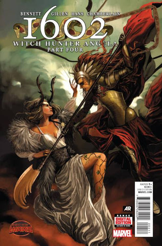 1602 WITCH HUNTER ANGELA #4 - Packrat Comics
