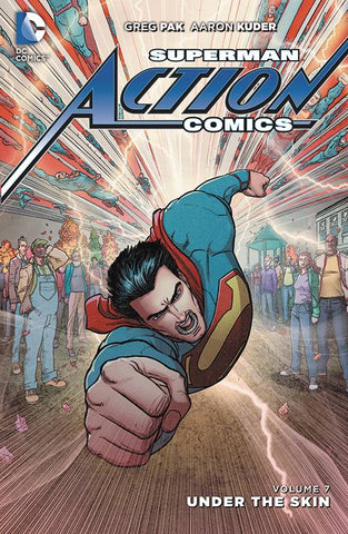 SUPERMAN ACTION COMICS HC VOL 07 UNDER THE SKIN - Packrat Comics