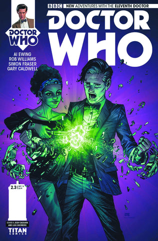 DOCTOR WHO 11TH YEAR TWO #3 REG CASSARA - Packrat Comics