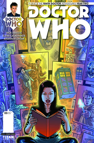 DOCTOR WHO 10TH YEAR TWO #3 REG ROMERO - Packrat Comics