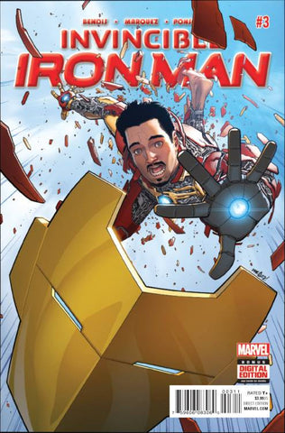 INVINCIBLE IRON MAN #3 - Packrat Comics