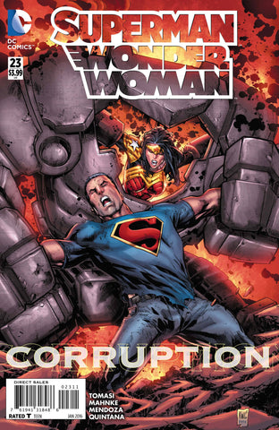 SUPERMAN WONDER WOMAN #23 - Packrat Comics
