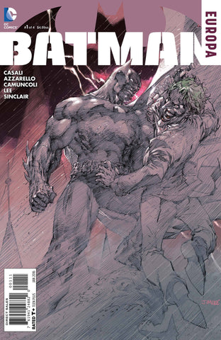 BATMAN EUROPA #1 (OF 4) - Packrat Comics