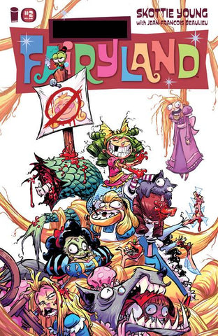 I HATE FAIRYLAND #2 F*CK (UNCENSORED) FAIRYLAND VAR (MR) - Packrat Comics