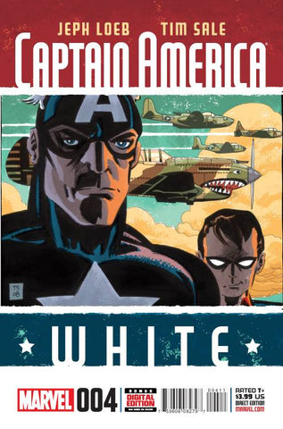 CAPTAIN AMERICA WHITE #4 (OF 5)