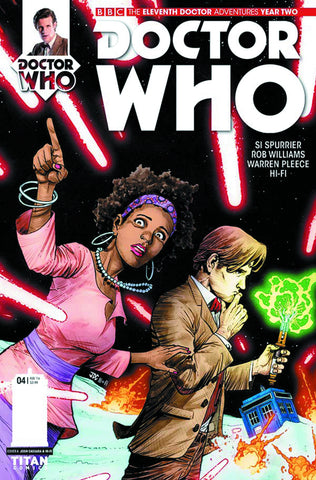 DOCTOR WHO 11TH YEAR TWO #4 REG CASSARA & GUERRERO