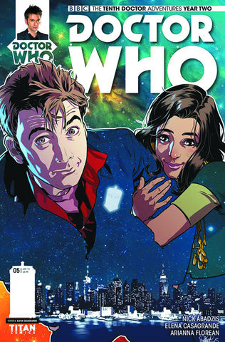DOCTOR WHO 10TH YEAR TWO #5 REG CASAGRANDE - Packrat Comics