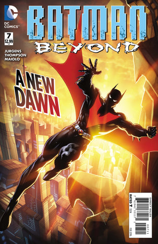 BATMAN BEYOND #7 - Packrat Comics