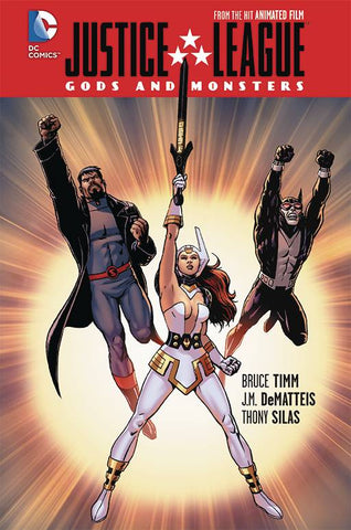 JLA GODS AND MONSTERS HC - Packrat Comics