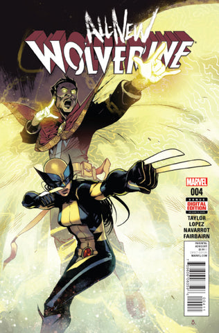 ALL NEW WOLVERINE #4 - Packrat Comics