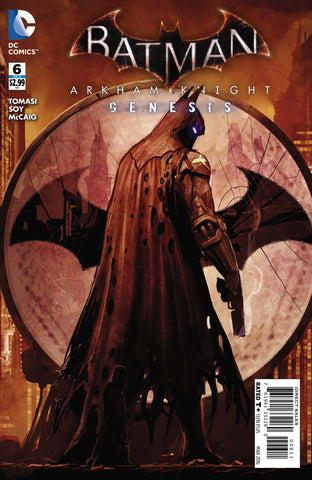 BATMAN ARKHAM KNIGHT GENESIS #6 (OF 6) - Packrat Comics