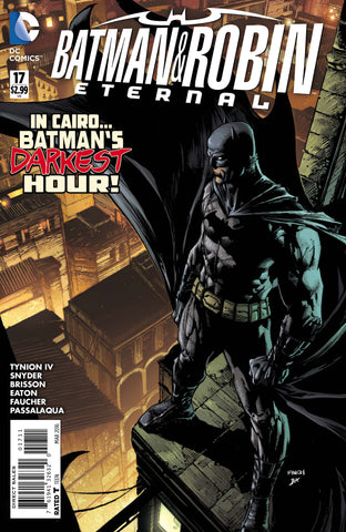 BATMAN AND ROBIN ETERNAL #17 - Packrat Comics