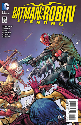 BATMAN AND ROBIN ETERNAL #19 - Packrat Comics