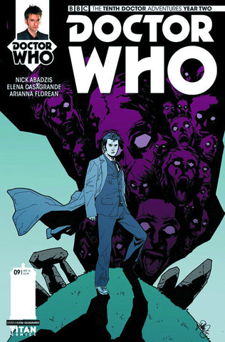 DOCTOR WHO 10TH YEAR TWO #9 CVR A CASAGRANDE
