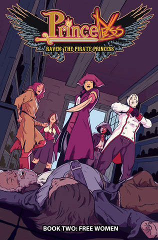 PRINCELESS RAVEN PIRATE PRINCESS TP VOL 02 FREE WOMEN