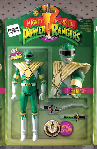 MIGHTY MORPHIN POWER RANGERS #1 UNLOCK ACTION FIGURE VAR
