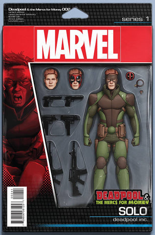 DEADPOOL MERCS FOR MONEY #2 (OF 5) ACTION FIGURE VAR