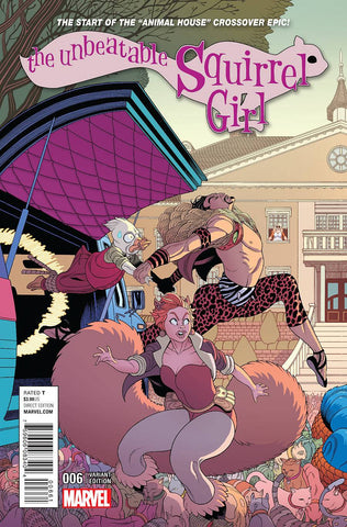 UNBEATABLE SQUIRREL GIRL #6 MOORE CONNECTING A VAR