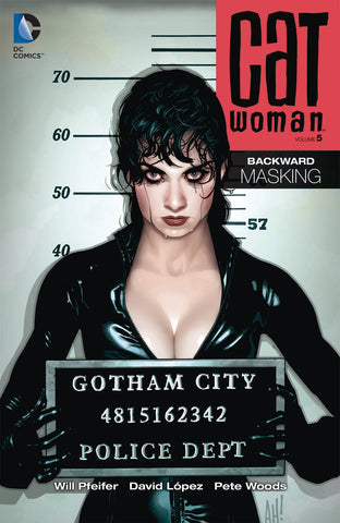 CATWOMAN TP VOL 05 BACKWARD MASKING - Packrat Comics