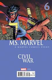 MS MARVEL #6 MCKONE CIVIL WAR VAR