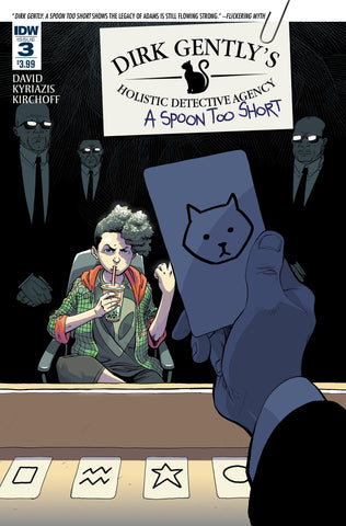 DIRK GENTLY A SPOON TOO SHORT #3 (OF 5) - Packrat Comics