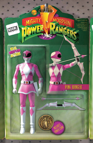 MIGHTY MORPHIN POWER RANGERS #3 UNLOCK ACTION FIGURE VAR