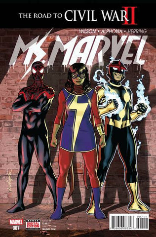 MS MARVEL #7 - Packrat Comics
