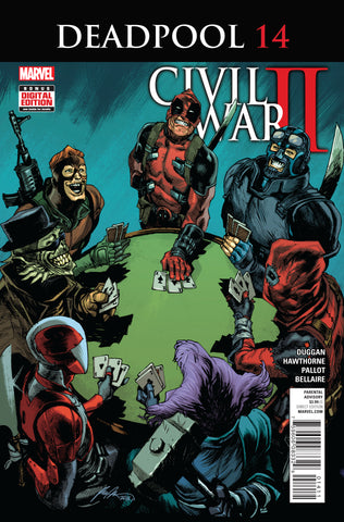 DEADPOOL #14 CW2 - Packrat Comics
