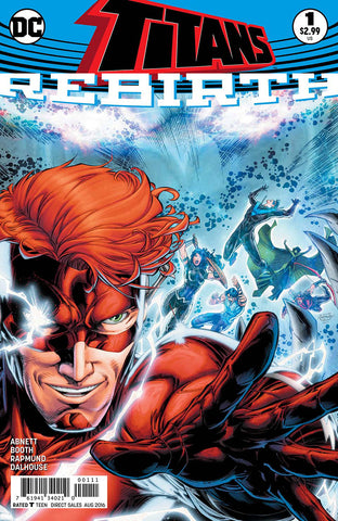 TITANS REBIRTH #1 - Packrat Comics