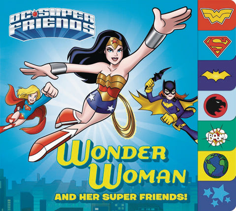 DC SUPER FRIENDS WONDER WOMAN & SUPER FRIENDS BOARD BOOK (C: - Packrat Comics