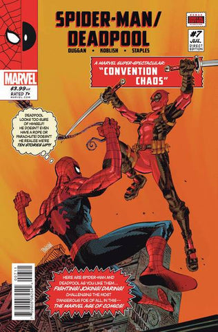 SPIDER-MAN DEADPOOL #7 - Packrat Comics