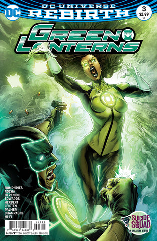 GREEN LANTERNS #3 - Packrat Comics