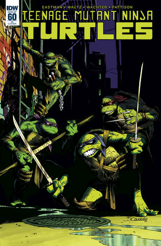 TMNT ONGOING #60 VARIANT (Stock Image) - Packrat Comics