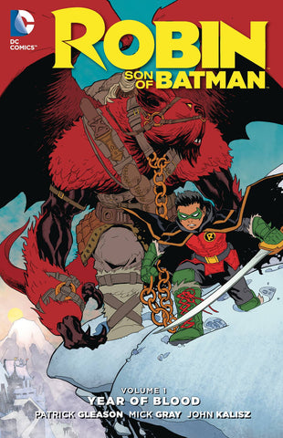 ROBIN SON OF BATMAN TP VOL 01 YEAR OF BLOOD - Packrat Comics
