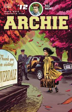 ARCHIE #12 CVR A REG VERONICA FISH - Packrat Comics
