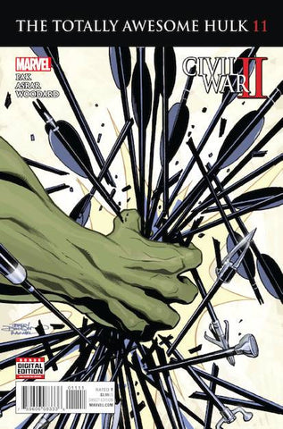 TOTALLY AWESOME HULK #11 - Packrat Comics