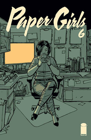 PAPER GIRLS #6 2ND PTG - Packrat Comics