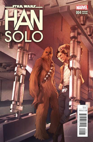 STAR WARS HAN SOLO #4 (OF 5) JAMAL CAMPBELL VAR
