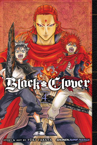 BLACK CLOVER GN VOL 04 - Packrat Comics