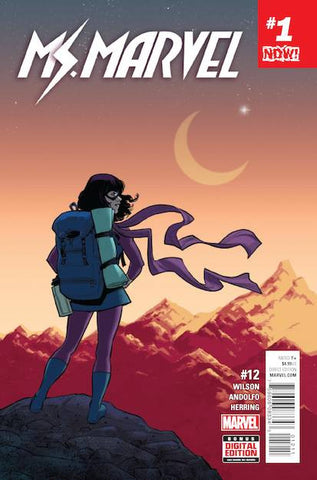 MS MARVEL #12 NOW