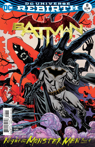 BATMAN #8 (MONSTER MEN) - Packrat Comics