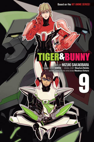 TIGER & BUNNY GN VOL 09 - Packrat Comics