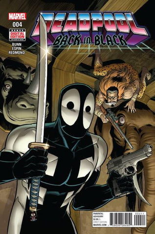 DEADPOOL BACK IN BLACK #4 (OF 5)