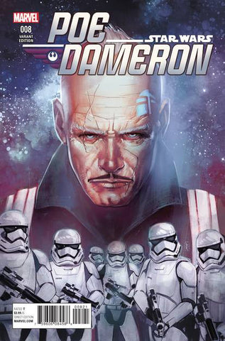 STAR WARS POE DAMERON #8 REIS VAR