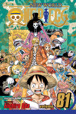 ONE PIECE GN VOL 81 - Packrat Comics